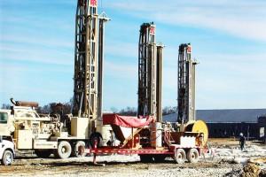 quarry drilling